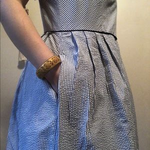 Like New✨ Lands' End Suckerseer Dress with Pockets